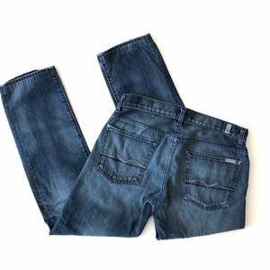7 For All Mankind Jeans - 7 for all mankind mens slimmy jeans sz 33 A015